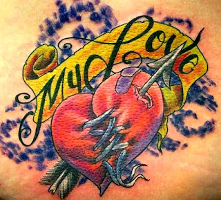Broken Heart Tattoo Designs on Heart Tattoos With Image Heart Tattoo Designs Especially Broken Heart