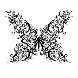 Nice Butterfly Tattoo With Image Butterfly Tattoos Design Picture 5