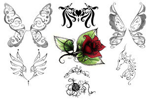 Nice Butterfly Tattoos With Image Butterfly Tattoo Designs Picture 5