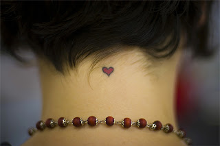 Heart Tattoos With Image Female Tattoo With Heart Tattoo Designs On The Body Picture 8