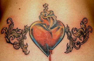 Heart Tattoos With Image Female Tattoos With Heart Tattoo Designs For Lower Back Heart Tattoo Picture 3