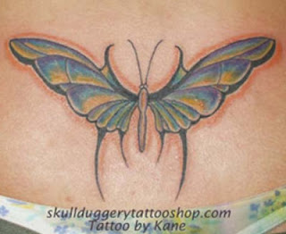 Nice Butterfly Tattoos With Image Butterfly Tattoo Designs For Female Lower Back Butterfly Tattoo Picture 8
