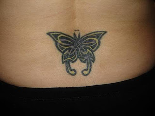 Nice Butterfly Tattoo With Image Butterfly Tattoo Designs For Female Lower Back Butterfly Tattoos Picture 8