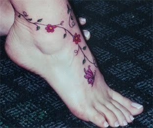 Amazing Flower Tattoos With Image Flower Tattoo Designs For Female Tattoo With Foot Flower Tattoo Picture 8