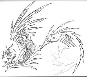 Japanese Tattoos With Image Japanese Tattoo Designs For Japanese Female Tattoo And Japanese Male Tattoo With Japanese Phoenix Tribal Tattoos Picture 2