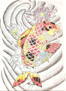 Japanese Tattoos With Image Japanese Koi Fish Tattoo Design 2