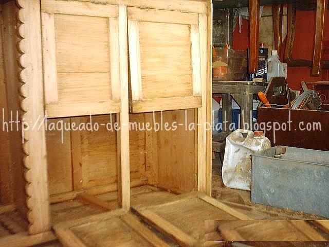 Suavizado: preparar la superficie terminacion muebles de madera ...