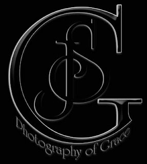 image logo for photography of grace on black background