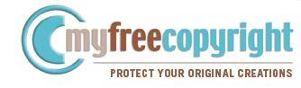 MyFree Copyright Logo