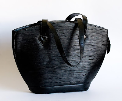 black Louis Vuitton designer handback - the real thing, not a knock off
