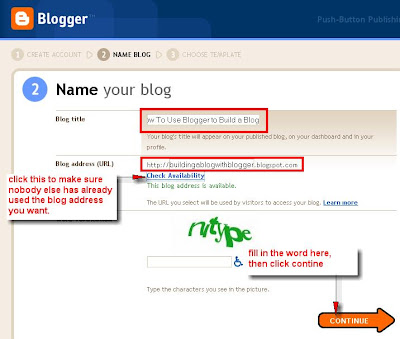 giving your blog a name