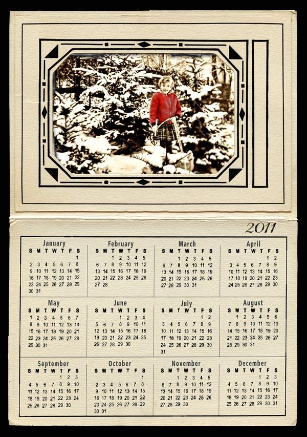 Vintage Calendar Template : Photography raphy vintage calendar frame templates