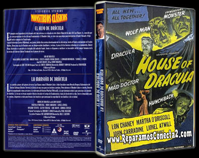 La Mansion de Dracula [1952] español de España megaupload 2 links, cine clasico