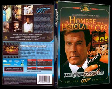 El Hombre de la pistola de oro 1974 | Carátula | cine clásico
