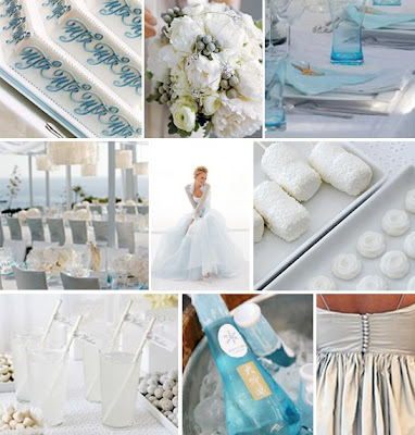 I love this color palette perfect for a modern beach wedding
