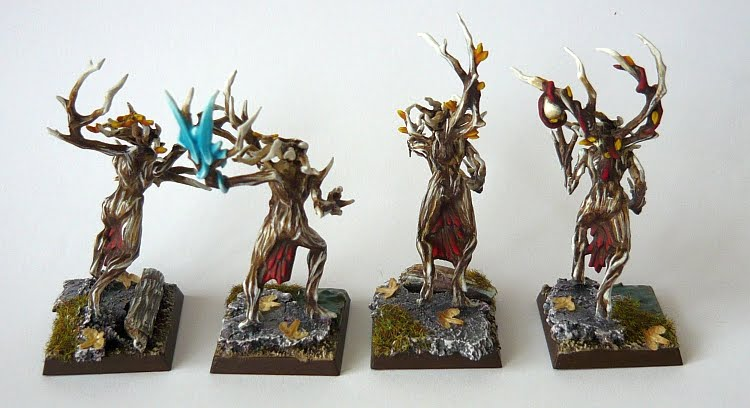 Skavenblight's Wood Elves Dryad04