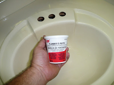 Penny 39 s tuppence 2 cents in brit rv drips faucets and for Plumbers putty