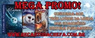 MegaPromo A Lenda dos guardiões - 3 livros