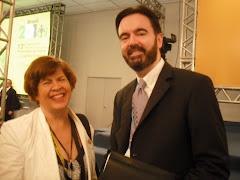 Vera Mattos e John Sandage (ONU)