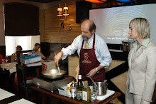 Giuseppe Pariani cooking in Russia