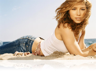 jessica biel no clothes