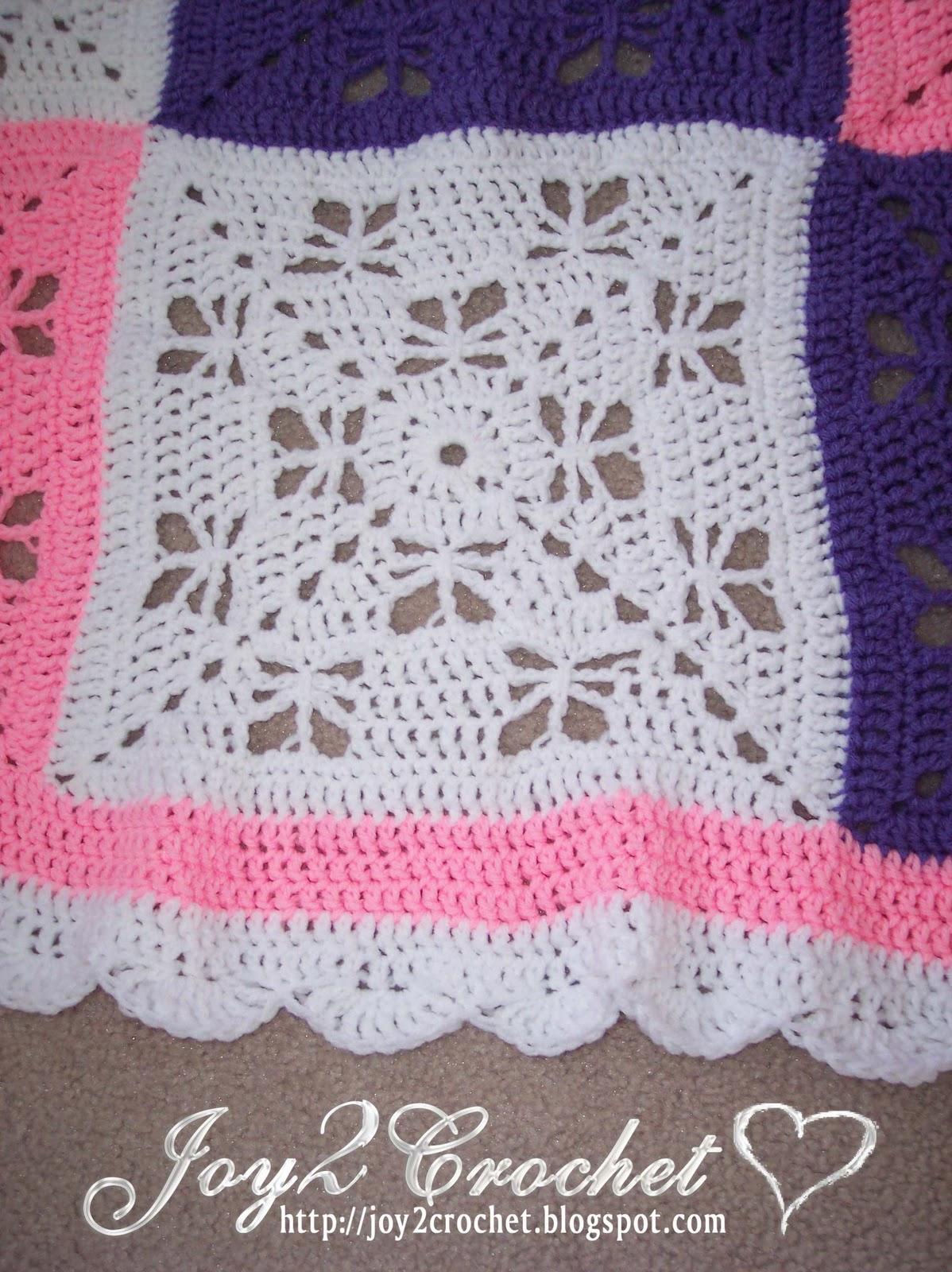 Joy 2 Crochet: Butterfly Afghan