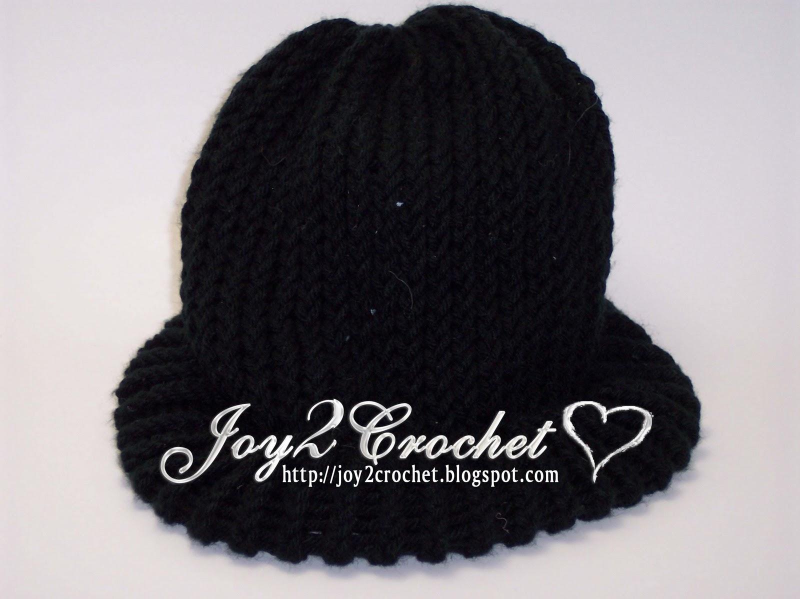 Joy 2 Crochet Basic Knitting Loom Hats