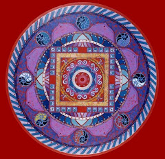 Consious living mandala