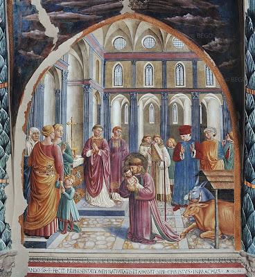 la crèche de Saint-François dans images sacrée Presepe+di+san+francesco
