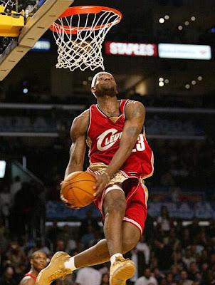 My thought: LeBron James aka King James
