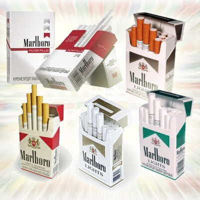 Long cigarettes Marlboro filters