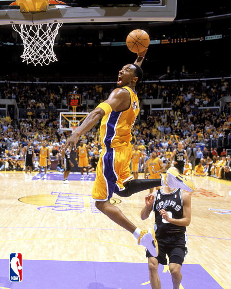kobe bryant and lebron james dunk