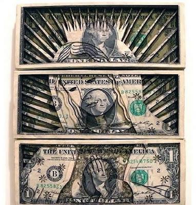 one dollar bill art. One Dollar Bill Art