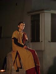 una dama medievale