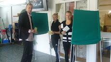 Rasmus, Sara och Linnea gör entré i Skolvalet