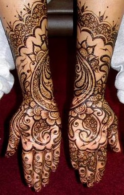 Mehndi Hairstyles S : My fashion stop mehndi styles for every one