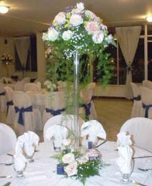 Centros De Mesa De Altura Chic Vs Kitsch Decoracion Flores - Centros-de-mesa-con-plantas-naturales
