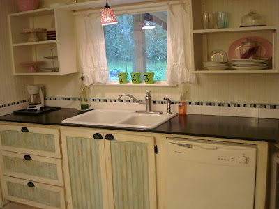Kitchen Cabinets Ideas Shabby Chic Painted