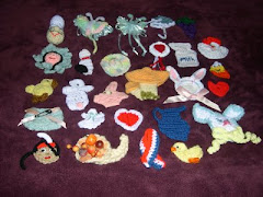 Crocheted Fridgies