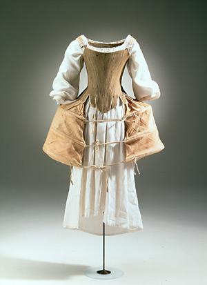So Faithful a Heart: Things: 18th century women's undergarments