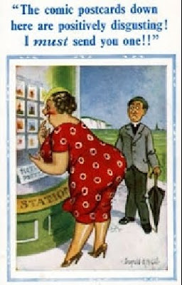 The Rotunda Ramblings Old And Naughty British Postcards