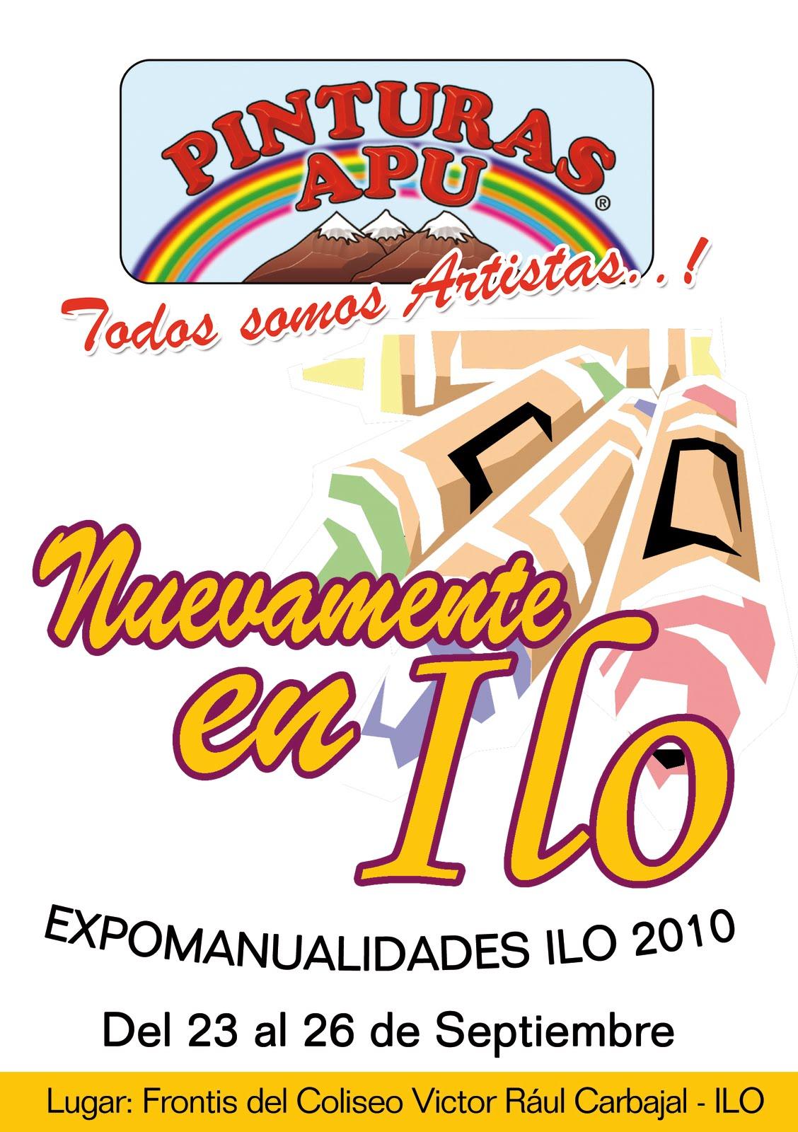 Pinturas apu feria de manualidades ilo - Feria de manualidades en barcelona ...