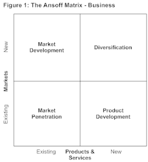 assessing the value of ansoff matrix grid The pragmatic marketing framework provides a standard language for your entire  articulate and leverage the organization's unique abilities to deliver value to.