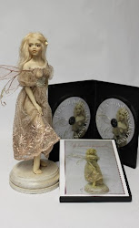 My dvd on how to sculpt a fairy