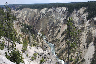 Yellowstone Canyon, North Rim