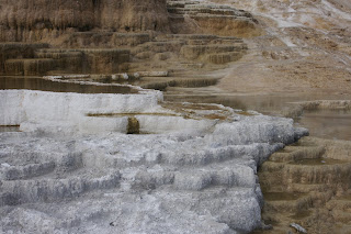 Mammoth terraces Yellowstone