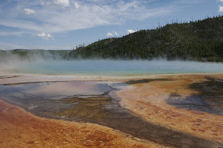Prismatic geyser, Yellowstone
