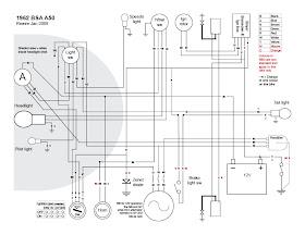 Old Bike Hack: A proper wiring diagram (I think)Old Bike Hack - blogger