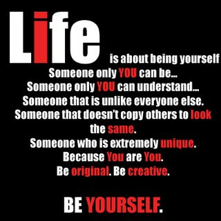 quotes and sayings about being yourself quotesgram