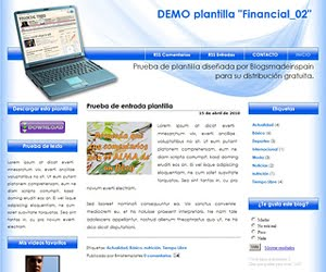 Descargar plantilla Financial_02